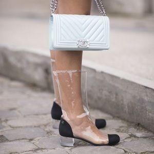 Chanel PVC Rain-boots